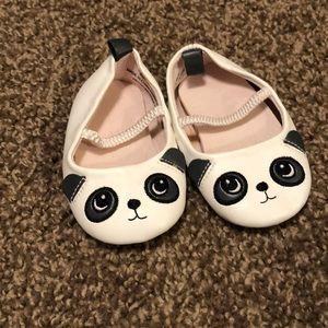 H&M panda soft sole baby shoes